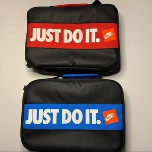 Set of 2 Nike Just Do It Bumper Sticker Lunch Bag